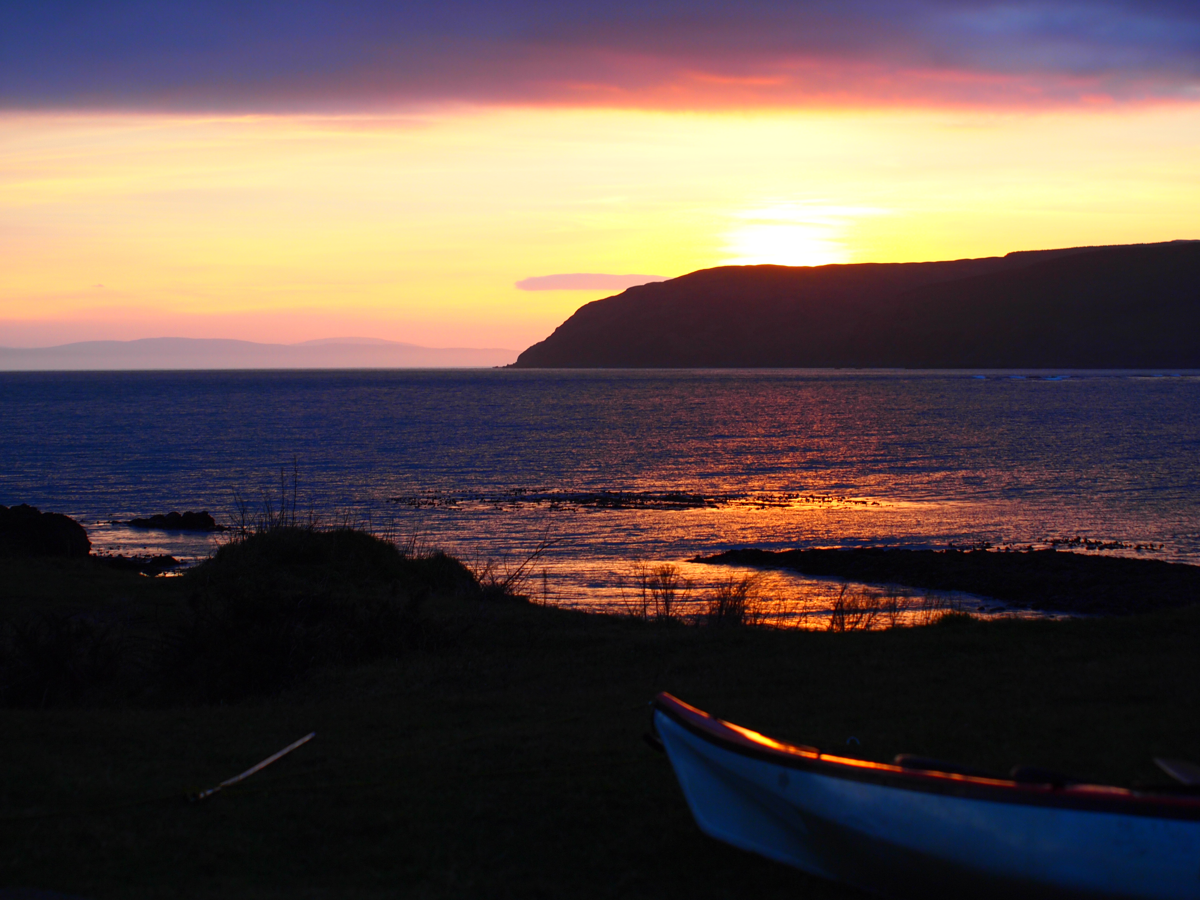 Sunset over Kintyre