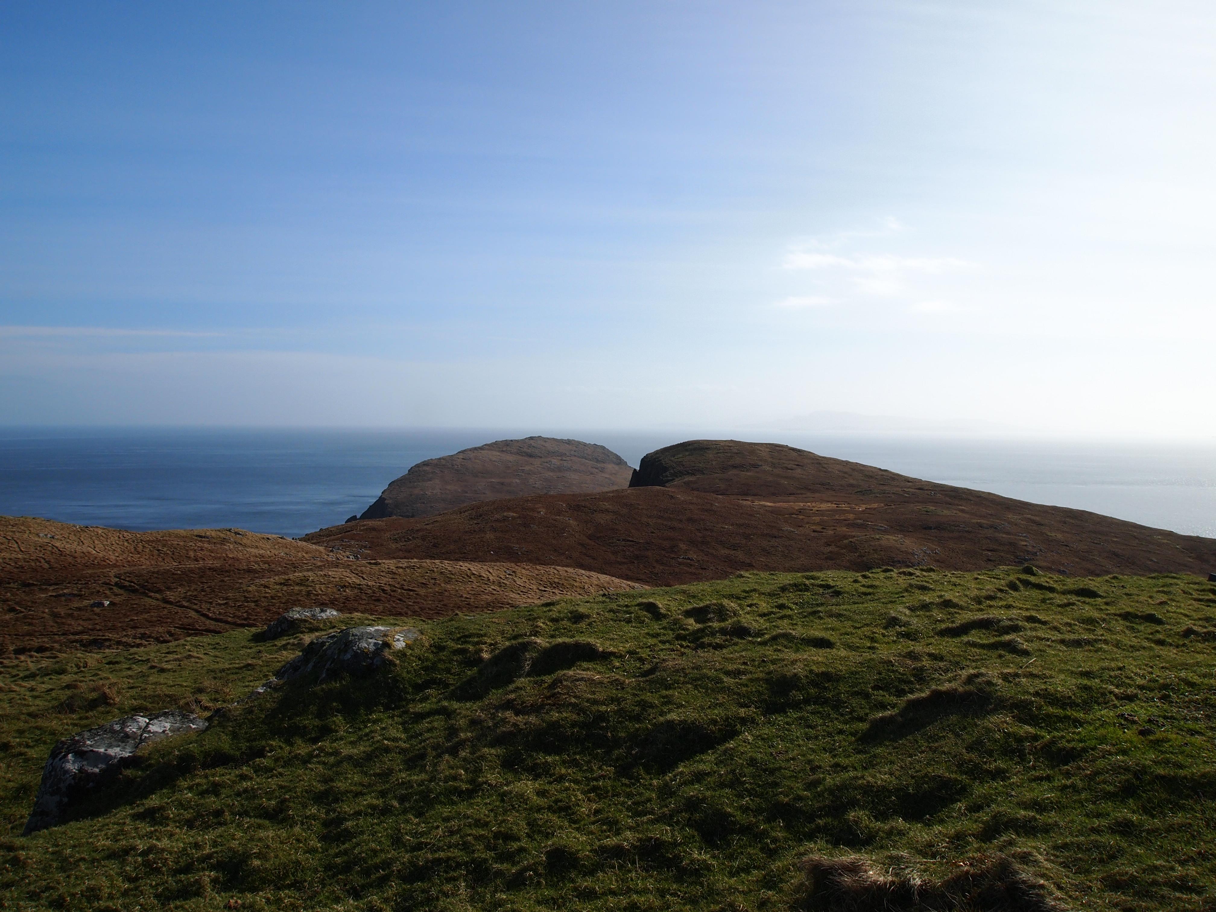 Garbh Eilean, Eilean an Taighe and Skye in the distance